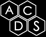 Acds White Logo