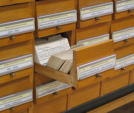 Archives Schlagwortkatalog